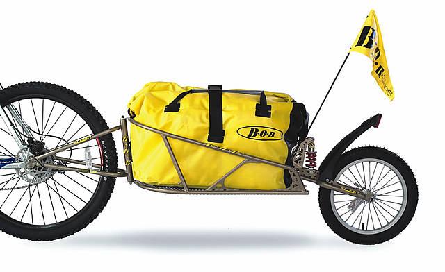 BOB IBEX 26 bis 29 Zoll inkl. Bag Einspur-Fahrradanhänger
